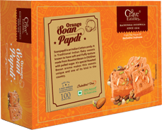 Orange Soanpapdi